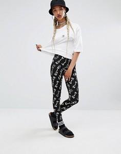 Леггинсы с графическим принтом adidas Originals X Pharrell Williams - Мульти