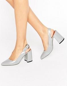 Серые туфли на каблуке RAID Savannah - Серый