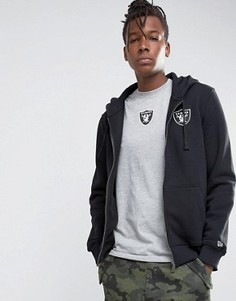 Худи на молнии New Era Raiders - Черный