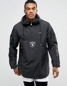 Куртка-пончо через голову New Era Raiders - Черный