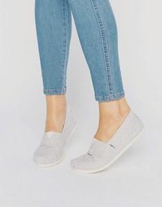 Светлые шерстяные туфли TOMS - Серый