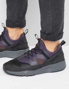 Черные кроссовки премиум в стиле милитари Nike Air Huarache 806979-001 - Черный