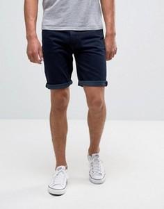 Окрашенные джинсовые шорты Bellfield - Синий