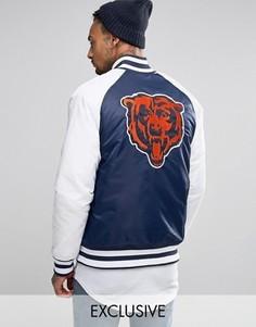 Куртка Majestic Chicago Bears Souvenir эксклюзивно для ASOS - Темно-синий