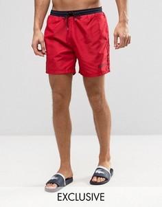 Красные шорты для плавания BOSS By Hugo Boss - Красный