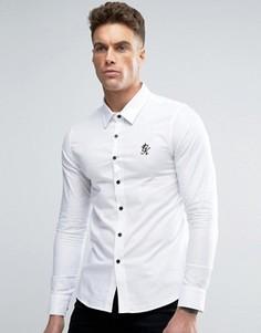 Рубашка скинни Gym King - Белый