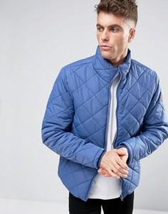 Стеганая дутая куртка Blend - Синий