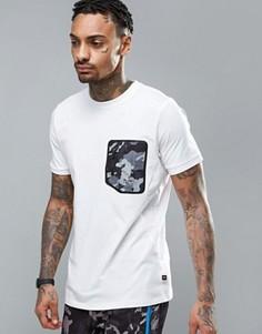 Футболка с камуфляжным карманом Ellesse - Белый