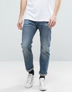 Светлые прямые джинсы G-Star Revend - Синий