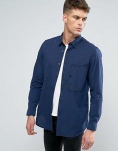 Узкая рубашка с длинными рукавами G-Star Stalt - Синий