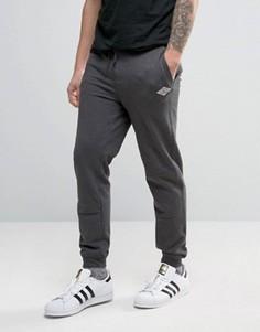 Узкие джоггеры на манжетах с логотипом Tokyo Laundry - Серый