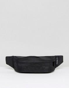 Черная сумка-кошелек на пояс Reebok AJ5938 - Черный