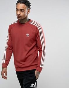 Красный свитшот с круглым вырезом adidas Originals SST BQ5407 - Красный