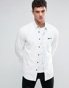 Выбеленная джинсовая рубашка RVCA - Темно-синий