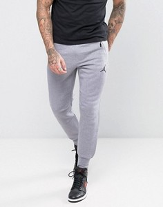 Серые джоггеры скинни Nike Icon 809472-065 - Серый Jordan