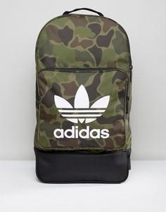 Рюкзак с камуфляжным принтом adidas Originals Cross BK7211 - Мульти