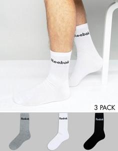 Набор из 3 пар разноцветных носков Reebok AB5281 - Мульти