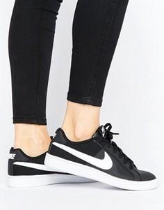 Черно-белые кроссовки Nike Court Royale - Мульти