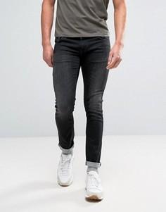 Черные выбеленные джинсы Nudie Jeans Co - Черный