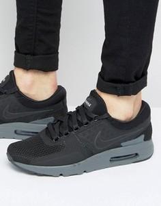 Черные кроссовки Nike Air Max Zero QS 789695-001 - Черный