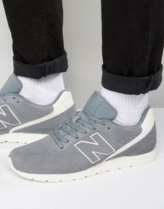 Черные кроссовки в стиле 70-х New Balance Running 420 MRL996DY - Серый