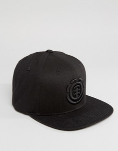 Бейсболка Element Knutsen - Черный