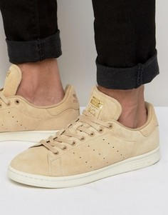 Бежевые кроссовки adidas Originals Stan Smith BB0039 - Бежевый