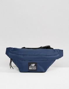 Темно-синяя сумка-кошелек на пояс New Balance - Темно-синий