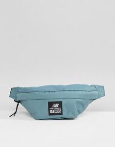 Зеленая сумка-кошелек на пояс New Balance - Зеленый