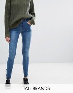 Супермягкие зауженные джинсы New Look - Синий