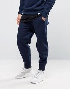 Синие спортивные штаны adidas X BY O BQ3107 - Синий