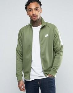 Зеленая спортивная куртка Nike Tribute 678626-387 - Зеленый