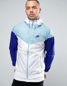 Белая ветровка Nike 727324-102 - Белый
