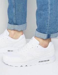 Белые кроссовки Nike Air Max 1 Ultra 2.0 875679-100 - Белый