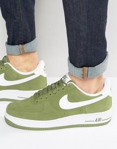 Зеленые кроссовки Nike Air Force 1 315122-306 - Зеленый