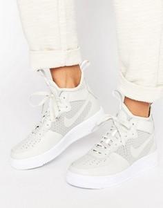 Серые кроссовки средней высоты Nike Air Force 1 Ultraforce - Серый