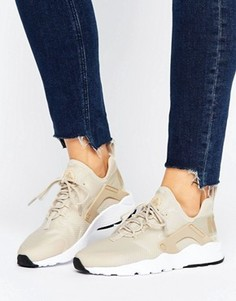 Бежевые кроссовки для бега Nike Huarache Run Ultra - Бежевый