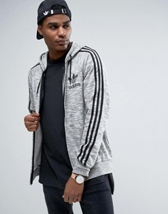 Худи серого цвета adidas California BK5890 - Серый