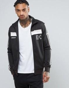 Черная спортивная куртка adidas Originals 83-C BK7529 - Черный