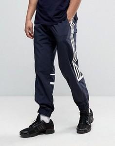 Темно-синие тканые джоггеры классического кроя adidas Originals CLR84 BK5933 - Темно-синий