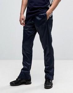 Синие джоггеры на кнопках adidas Originals AC BK0025 - Синий