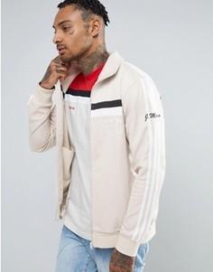 Бежевая спортивная куртка adidas Originals 83-C BK7523 - Бежевый