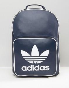 Темно-синий рюкзак в стиле ретро adidas Originals BK2106 - Темно-синий