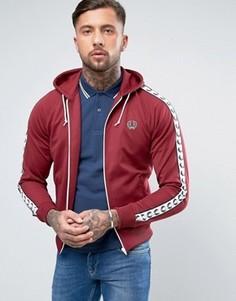 Красная спортивная куртка с капюшоном Fred Perry Sports Authentic - Красный