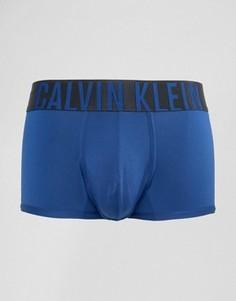 Боксеры-брифы из микрофибры с заниженной талией Calvin Klein - Синий