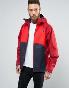 3-цветная куртка с капюшоном The North Face Sequence - Красный