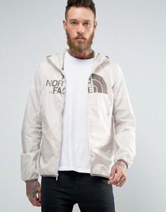 Светло-бежевая куртка с капюшоном The North Face - Белый