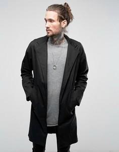 Пальто с заниженной линией плеч Religion - Черный