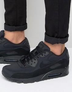Черные кроссовки Nike Air Max 90 Essential - Черный