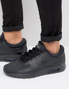 Черные кроссовки Nike Air Max Zero - Черный